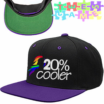 Rainbow Dash 20% Cooler Snapback Hat