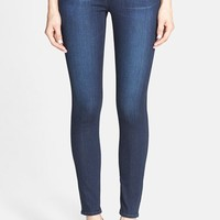 Women's AG Ankle Super Skinny Jeans (Coal Blue)