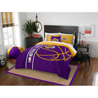 Los Angeles Lakers NBA Full Comforter Set (Soft & Cozy) (76 x 86)