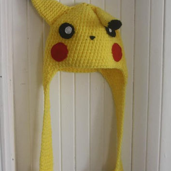 Pikachu Hat    MADE TO ORDER