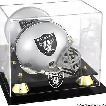 Raiders Mini Helmet Display Case - Fanatics