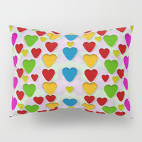 So sweet and hearty as love can be Pillow Sham by Pepita Selles