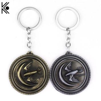 DCCKHD9 Game Of Throne House key chains keyrings The eagle logo move series jewelry jordan key