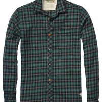 Japanese Flannel Check Shirt - Scotch & Soda