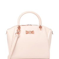 Small crystal bow tote - Nude Pink | Bags | Ted Baker UK