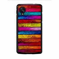 Wood Stripes Nexus 5 Case