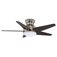 Casablanca Fans 59019 Isotope® Brushed Nickel One-Light 44-Inch Ceiling Fan