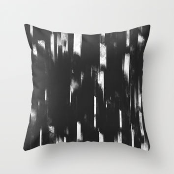 Glitch Panda 6 Throw Pillow by HappyMelvin Graphicus