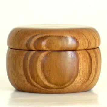 Wooden Pill Box Handcrafted in Hububalli with Magnetic Lid