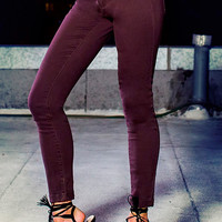 Rolled Up Cuff Jeans