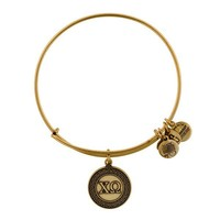 Alex and Ani Chi Omega Charm Bangle - Russian Gold