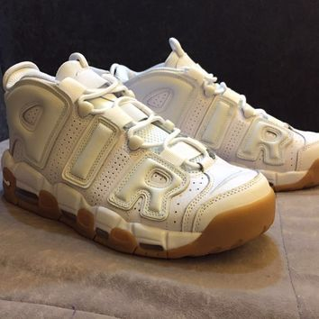 "Nike Air More Uptempo OG ""White Gum"" 414962-103 Size 36--45"