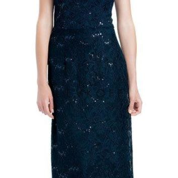 Bill Levkoff 1174 Sequin Lace Full Length Bridesmaid Dress