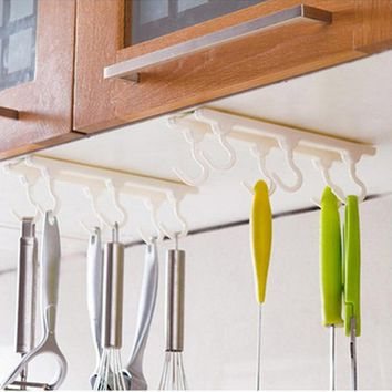 Practical Kitchen cabinets ceiling hook