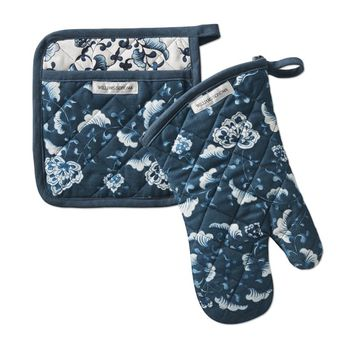 Seoul Fan Oven Mitt & Potholder Set