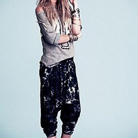 One Teaspoon  Tie Dye Harem Pants at Free People Clothing Boutique