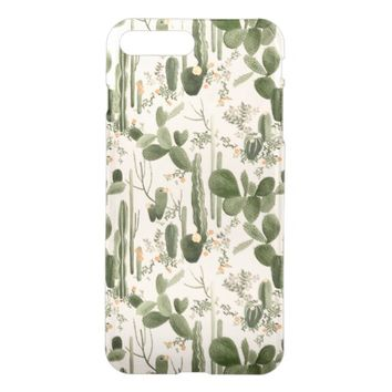 Amazing Cactus Pattern iPhone 7 Plus Case