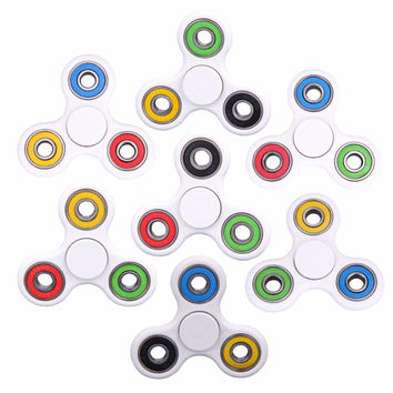 Creative Ceramic Tri-Spinner Fidget Toy EDC Hand Spinner for Autism and ADHD Stress Relieve Toy