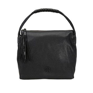 Tory Burch Taylor Pebbled Leather Hobo Bag