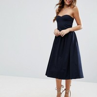 ASOS Bandeau Midi Sundress at asos.com