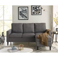 Mainstays Apartment Reversible Sectional - Walmart.com