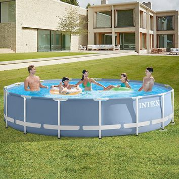 INTEX bracket swimming pool thickening children's home large pool collapsible pool fish pond commercial adult