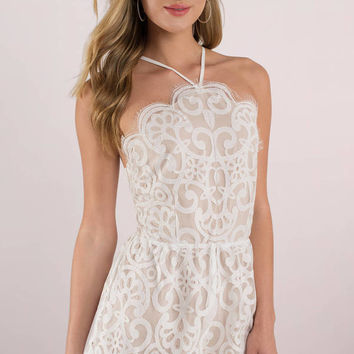 Pick Me Up Lace Romper