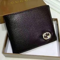 PEAPUF3 Gucci Men Wallets   Leather Male Purse Small Wallets Money Bag G-LLBPFSH