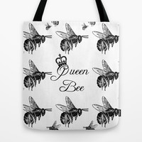 Queen Tote Bag by Ally Coxon