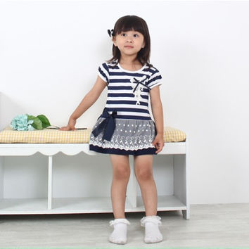 Kids Girls Baby Dress  Products For Children = 4445873284