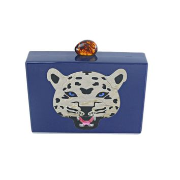Milanblocks Tiger Tortoise Acrylic Designer Clutches bags Designers Clutch