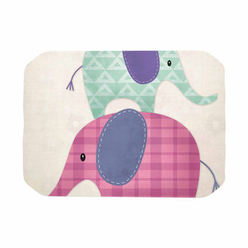 "Noonday Design ""Balancing Act "" Multicolor Kids Place Mat"