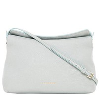 Burberry Women's Small Leah Grainy Shoulder Bag Sky Blue