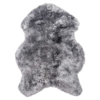 Natural 100% Icelandic Sheared Sheepskin 2-Foot x 3-Foot Accent Rug