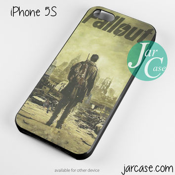 Fallout 4 Poster 2 Phone case for iPhone 4/4s/5/5c/5s/6/6 plus