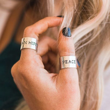 Peace Layers Ring
