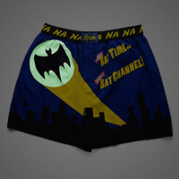 Bat Time Glow-in-the-Dark Boxers