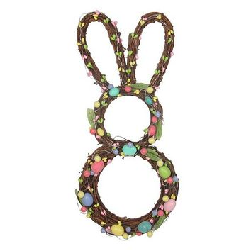 Celebrate Easter Together LED Bunny-Shaped Wall Decor