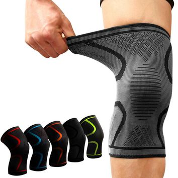 1PCS Fitness Running Cycling Knee Support