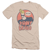 JOHNNY BRAVO/WANTS ME - S/S ADULT 30/1 - CREAM -