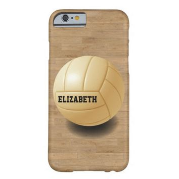 Volleyball Custom Ball iPhone 6 Case