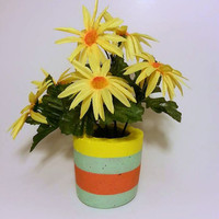 Flower Vase, Concrete Vase, Pencil Holder, Toothbrush Holder, Pen Holder, Vase