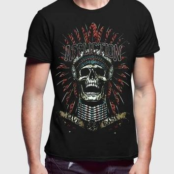 Affliction Explosin Half Sleeve Men Premium Tshirt
