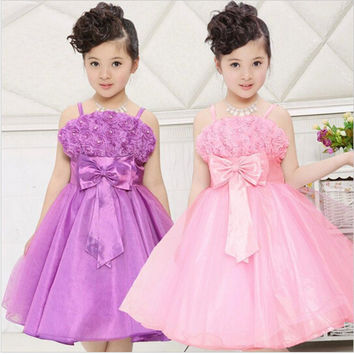 Kids Girls Baby Dress Products For Children = 4457603396