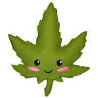 Highdy Plush a Marijuana Leaf Doll