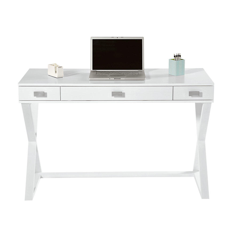 See Jane Work Kate Writing Desk 30 H X 47 From Office Depot