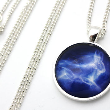 Harry Potter, Luna Lovegood Hare Patronus Necklace
