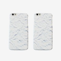 Crushed Paper iPhone Case