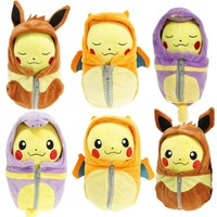 Pokemon Pikachu Mashup Sleeping Bag Plush