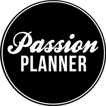 "PRE-ORDER Passion Planner Classic 2016 (8.5""x11"")"